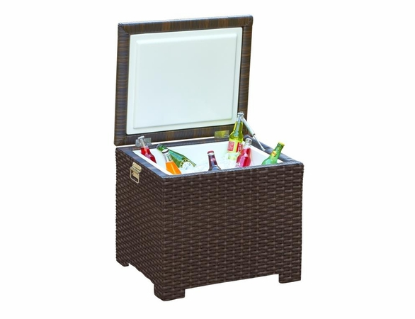 Wicker Forever Patio Barbados Ice Chest