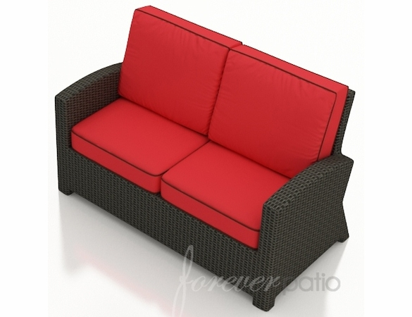 Wicker Forever Patio Barbados Loveseat
