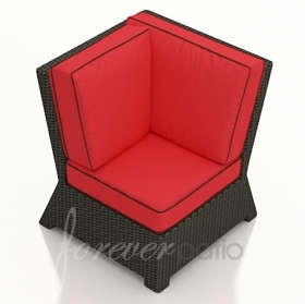 Wicker Forever Patio Barbados Sectional Corner Chair