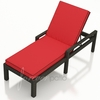 Wicker Forever Patio Barbados Single Adjustable Chaise Lounge