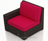 Wicker Forever Patio Capistrano Left Arm Facing Chair