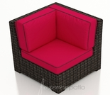 Wicker Forever Patio Capistrano Sectional Corner Chair