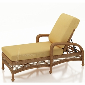 Wicker Forever Patio Catalina Adjustable Chaise Lounge