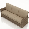 Wicker Forever Patio Cypress 3-Seater Sofa