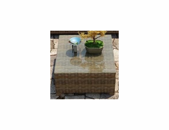 "Wicker Forever Patio Cypress 32"" Square Coffee Table"