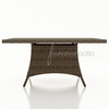 "Wicker Forever Patio Cypress 60"" Square Dining Table"