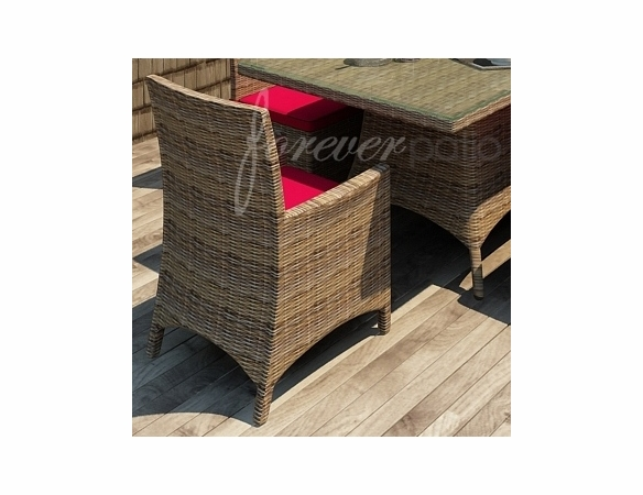 Wicker Forever Patio Cypress Dining Armchair