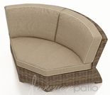 Wicker Forever Patio Cypress Sectional 45 Degree Corner
