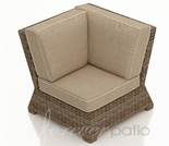 Wicker Forever Patio Cypress Sectional Corner Chair