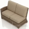 Wicker Forever Patio Cypress Sectional Left Arm Facing Loveseat