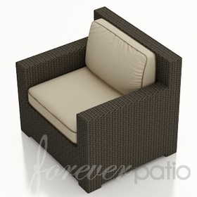 Wicker Forever Patio Hampton Club Chair