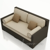 Wicker Forever Patio Hampton Day Lounger Sofa