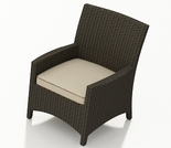 Wicker Forever Patio Hampton Dining Armchair