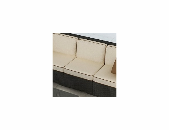 Wicker Forever Patio Hampton Sectional Middle Chair