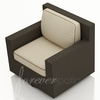 Wicker Forever Patio Hampton Swivel Glider