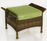 "Wicker Forever Patio Rockport 29"" x 19"" Ottoman"