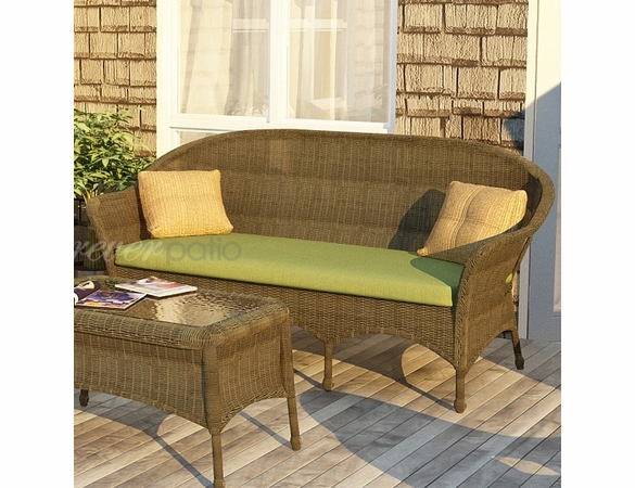 Wicker Forever Patio Rockport 3-Seater Sofa