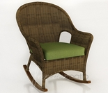 Wicker Forever Patio Rockport High Back Rocker