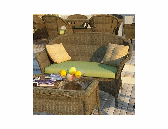 Wicker Forever Patio Rockport Loveseat