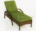 Wicker Forever Patio Rockport Single Adjustable Chaise Lounge