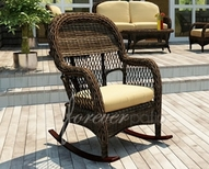 Wicker Rocking Chairs & Gliders