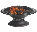 Wood Burning Round Copper Outdoor Firebowl