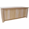 Wood Storage Bench - 4' - Exclusive Item - Not Currently Available