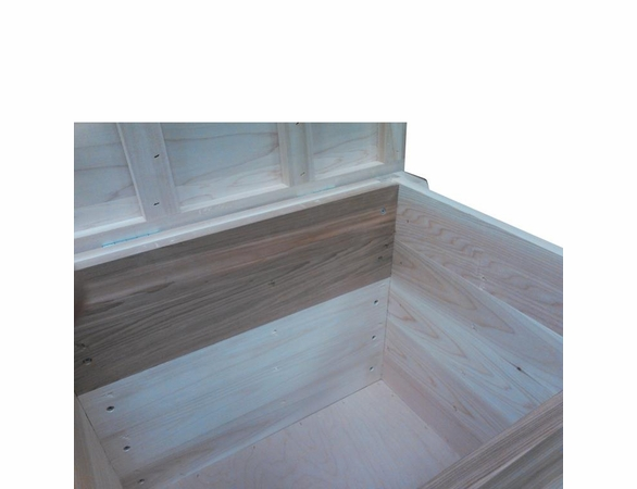Wood Storage Bench - 5' - Exclusive Item - Not Currently Available