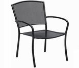 Woodard Albion Stackable Arm Chair