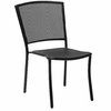 Woodard Albion Wrought Iron Stackable Side Chair (Set of 2 Chairs)