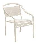 Woodard Baja Stackable Arm Chair