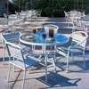 Woodard Baja Strap Alumninum Patio Set