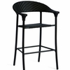 Whitecraft by Woodard Barlow Stationary Wicker Bar Stool