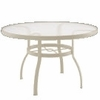 "Woodard Deluxe 42"" Round Umbrella Table - Multiple Finishes"