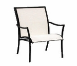 Woodard Dominica Sling Stackable Arm Chair
