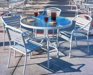 Woodard In Stock Aluminum Poolside Series