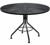 "Woodard Mesh Top 48"" Round Dining Umbrella Table"