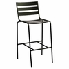 Woodard Metro Wrought Iron Stationary Bar Stool