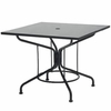 "Woodard Solid Top 36"" Square Dining Umbrella Table"