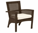 Whitecraft by Woodard Trinidad Wicker Dining Arm Chair