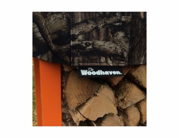 Woodhaven Mossy Oak CAMO Firewood Rack - 7 Sizes Available