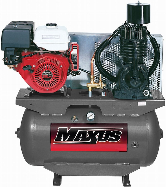 Maxus EX8006 13 HP Honda Gas, 30 Gallon Horizontal FREE SHIPPING!