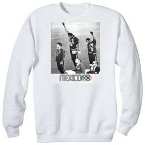 1968 Olympics Black Power Sweatshirt & Hoody