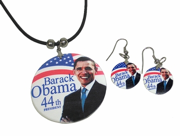 44th President Obama Jewelry Set