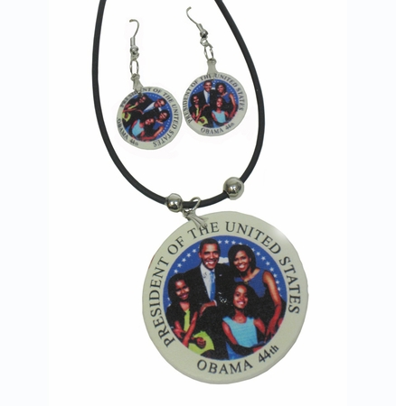 44th President Obama Jewelry Set B