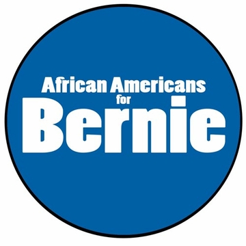 African Americans for Bernie Button