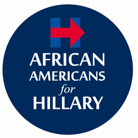African Americans For Hillary Button - Available in 3 Sizes!