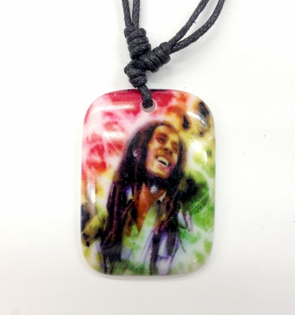 Bob Marley TyeDye Necklace