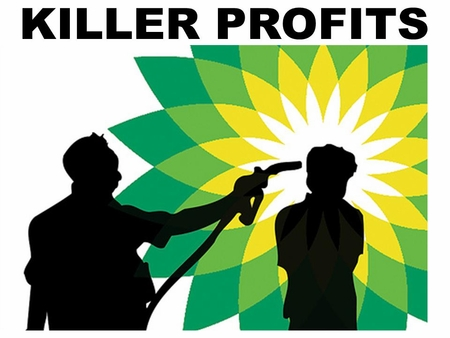 BP Killer Profits T-Shirt