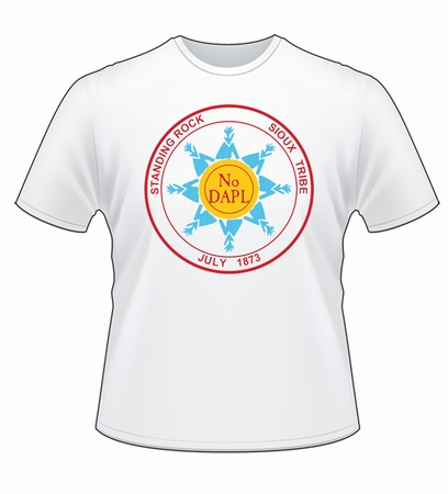 Standing Rock Sioux Tribe No DAPL T-shirt